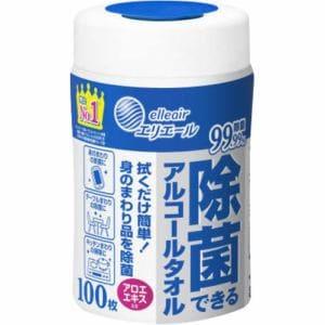 大王製紙 エリエール 除菌できるアルコールタオル 100枚入 【日用消耗品】