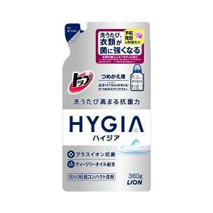 ライオン トップ HYGIA(ハイジア) つめかえ用 360g