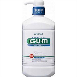 サンスター GUM(ガム) 薬用 デンタルリンス ノンアルコールタイプ 960ml 【医薬部外品】