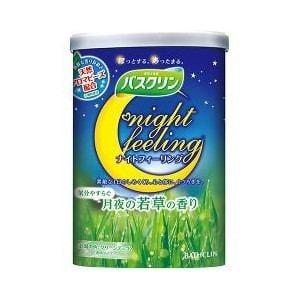 バスクリン ナイトフィーリング 気分やすらぐ月夜の若草の香り 600g