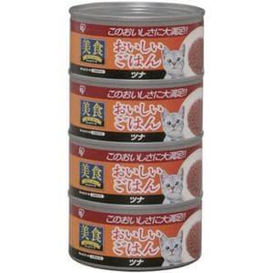 アイリスオーヤマ 美食メニュー おいしいごはん ツナ 170g×4缶