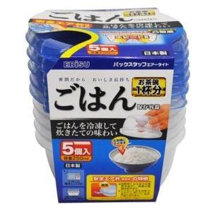 エビス パックスタッフ ごはん保存容器 エアータイト PS-AG95 ( 5コ入 )