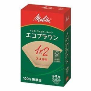 メリタ フィルターペーパー Melitta エコブラウン PE-12GB