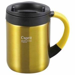 CAPTAIN STAG M-5367 キャプテンスタッグ シーエスプリ ダブルステンレスマグカップ280(イエロー)