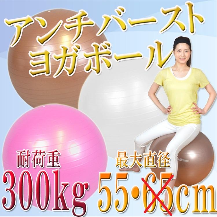 アンチバーストヨガバランスボール直径55cm LW-BA32