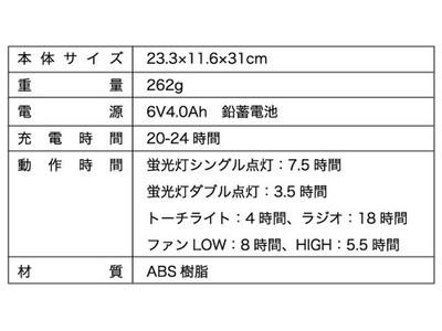 ★限定商品!多機能ポータブルファン KL-2385