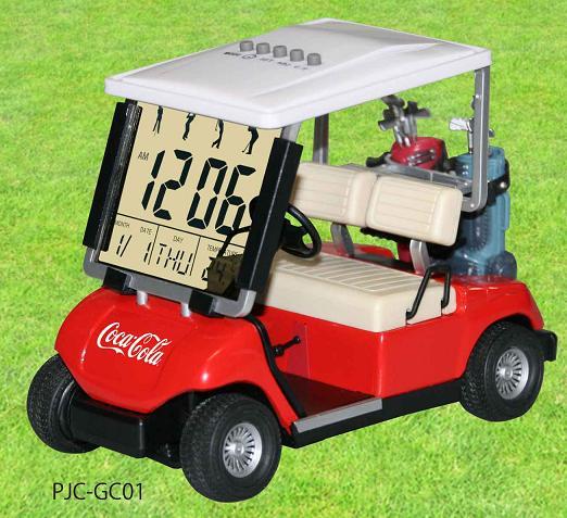 ★コカ・コーラブランド商品!PJC-GC01 / Golf Cart Clock