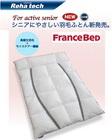 ★限定特価!フランスベッド モイスケア入羽毛ふとんクイーン