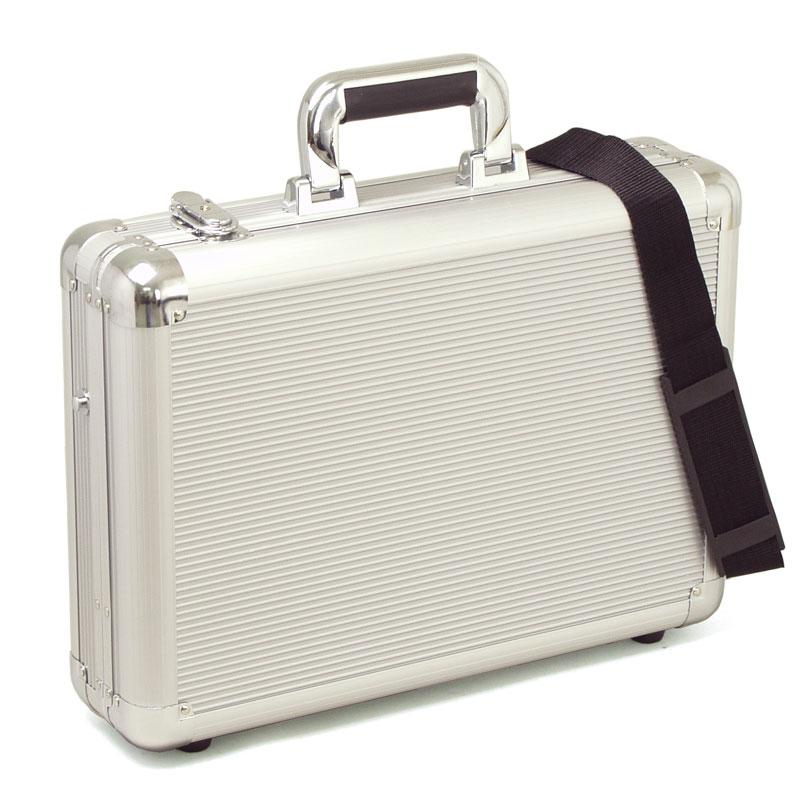 アルミ アタッシュケース ガスト メンズ ビジネスバッグ B4F 43cm #21197