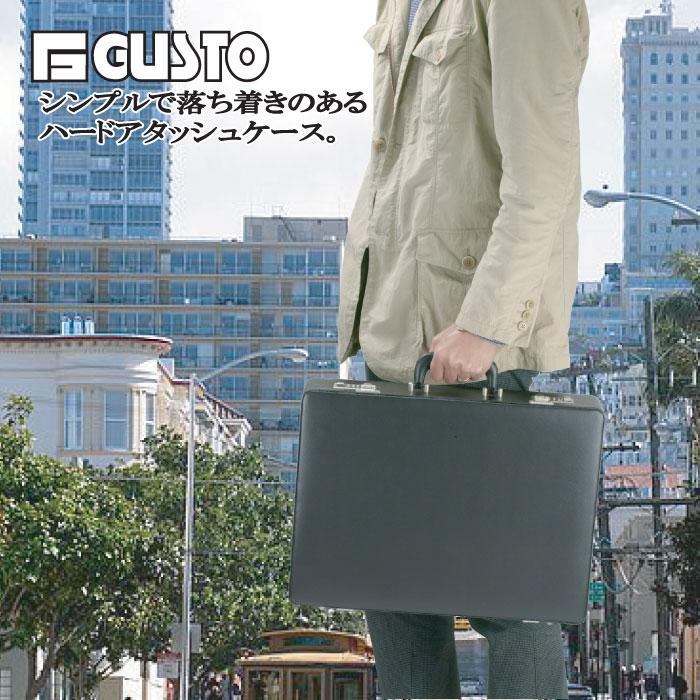 ハード アタッシュケース ビジネスバッグ メンズ A3 ガスト GUSTO 46cm #21211