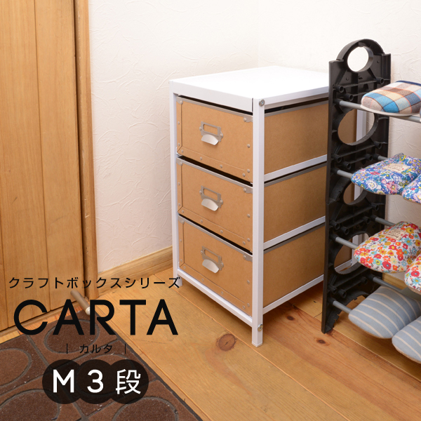 クラフトボックスシリーズ CARTA M3段