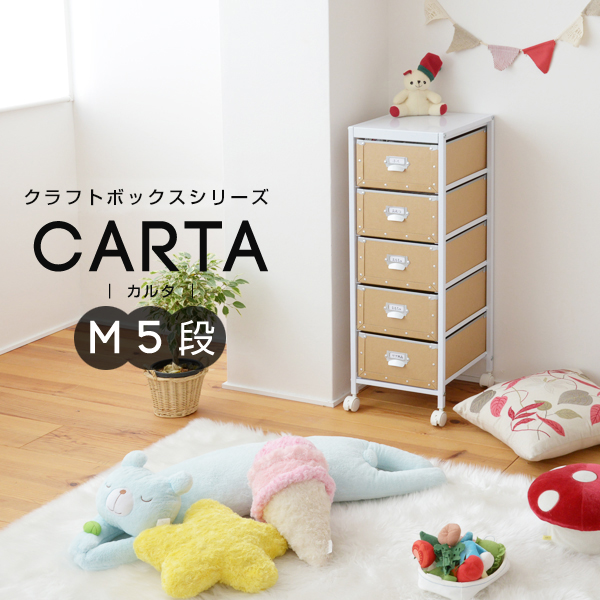 クラフトボックスシリーズ CARTA M5段