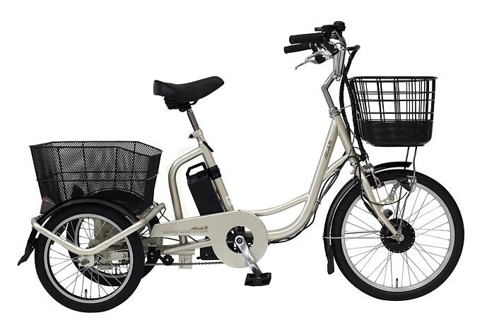 アシらく・ドゥー 電動アシスト三輪自転車D MG-TRM20D