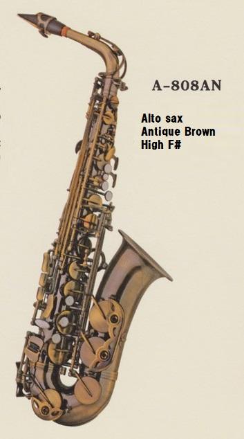 ♪日本初上陸Axis!【新品】アルト・サックスA-808AN