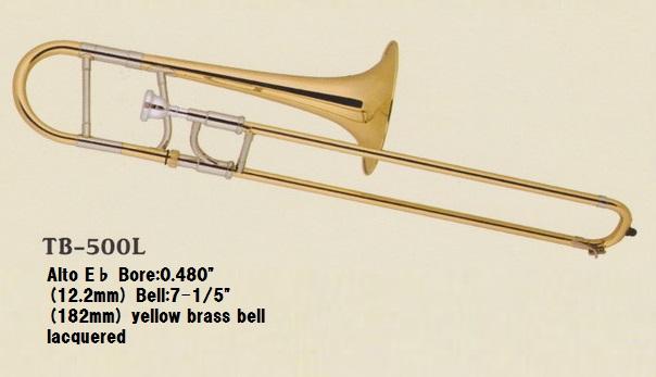 ♪日本初上陸Axis!【新品】アルト・トロンボーンTB-500L