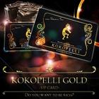 送料無料♪【ココペリゴールドVIPカード】強力な金運カード ※メール便発送