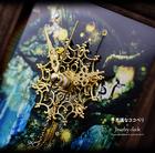 【不思議なココペリ 聖樹の置時計(ジュエリークロック)】幸運を刻む置時計