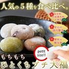 【ひとくちプチ大福アソート5種1kg(250g×4袋) 】もちもち食感の小さな大福 ※メール便発送