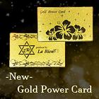 送料無料♪【New ゴールドパワーカード】あの開運カードがリユーアル ※メール便(郵便受け投函)発送