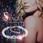 送料無料♪【STAGEA(ステージア)キュービックジルコニアブレスレット】開運ブレスレット