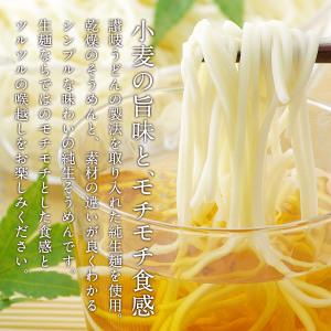 純生そうめん×8食セット[麺180g×4P+正田醤油特製つゆ23ml×8P]【送料無料】