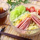 純生冷やし中華×2食セット[麺100g×2P+レモン醤油味スープ40ml×2P]【送料無料】