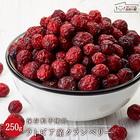 ラトビア産 クランベリー 250g 保存料不使用 ドライフルーツ 送料無料 保存に便利なチャック付き [ 甘酸っぱい フルーツ cranberry お試しサイズ 再入荷 自然の館