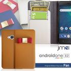 android ONE X2/HTC U11 lifeケース カバー 手帳 手帳型 本革 レザー リボン スマホケース スマホカバー セミオーダーメイド メール便 送料無料 シンプル 可愛い cute 人気 携帯カバー 76