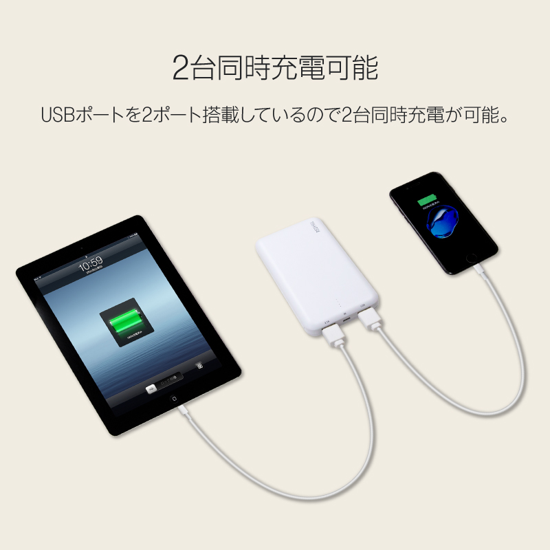 モバイルバッテリー 充電器 iphone android iPhone11 iPhone11 Pro iPhone11 Pro Max iPhoneXS iPhoneXSMax iPhoneXR iphoneX iphone8 iphone7 iphone6 ipad xperia xperiaxz xperiaxzs xz1 so01j aquos ds 3dsll アンドロイド アイフォン 10000mah 急速充電 pse 認証 rv