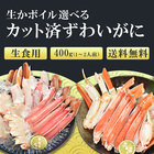 生食OK! 生ずわい蟹ハーフポーション(カット済みズワイガニ詰合せ)500g