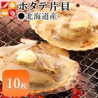 北海道産 ホタテ片貝(10枚入)【貝柱/ほたて/ホタテ/帆立】