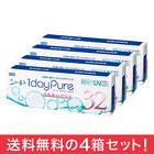 【送料無料】ワンデーピュア うるおいプラス 32枚入り×4箱セット シード 最安値に挑戦中!
