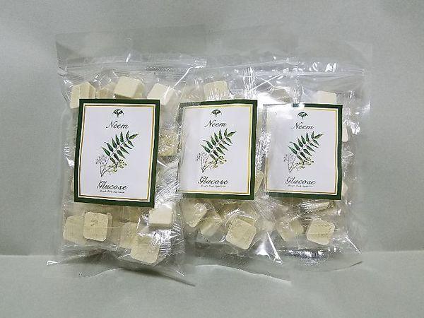 ニームパウダー入りぶどう糖サプリメント 25個入×3パック