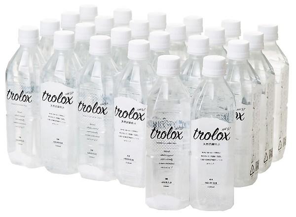 天然抗酸化水トロロックス 500ml