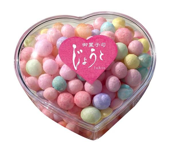 讃岐伝統菓子おいりハートケース 5個セット
