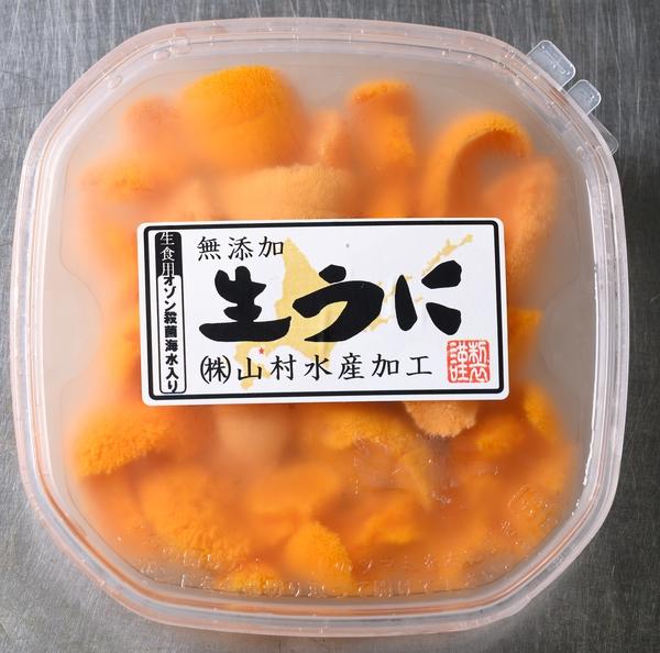 北海道噴火湾産 塩水バフンウニ 100g ※日時指定不可
