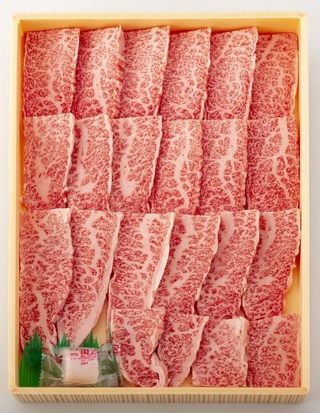【送料無料】長崎和牛霜降カルビ焼肉用400g