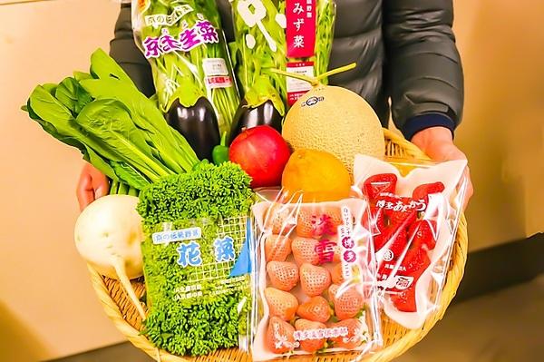 野菜ソムリエ厳選!! 京野菜とフルーツの盛り合わせ お手軽サイズ