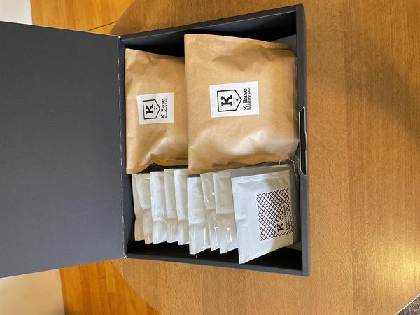【豆】自家焙煎珈琲所K.Base Roastery Lab.オリジナルブレンドセット(Large)