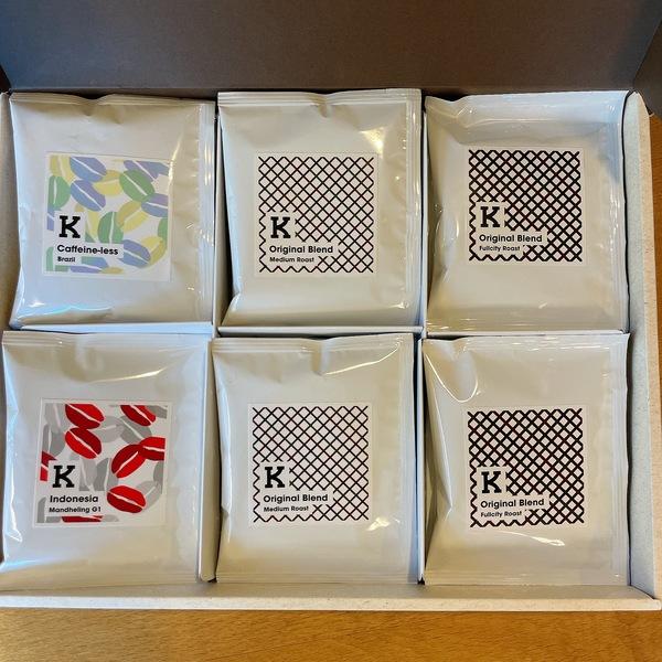 【Drip Bag Coffee】K.Base Roastery Lab.ドリップバッグセット18P