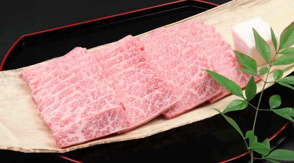 松阪牛カルビ・トロ・焼肉用 500g
