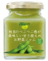 枝豆のつぶつぶ感が美味しい甘さ控えめお野菜ジャム