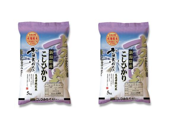 【送料無料】雪蔵仕込み新潟産こしひかり 10kg 【5kg×2】