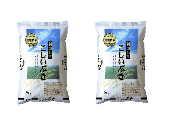 【送料無料】新潟産こしいぶき 10kg 【5kg×2】