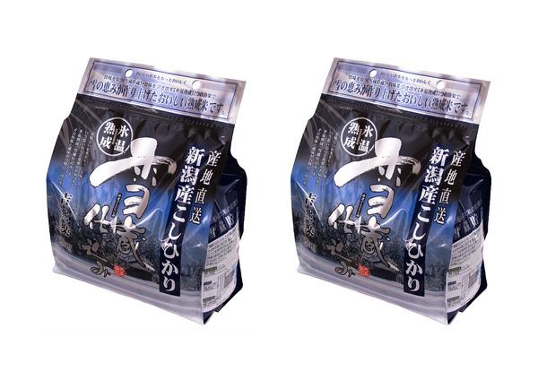 【送料無料】雪蔵仕込み氷温熟成新潟産こしひかり 4kg 【2kg×2】