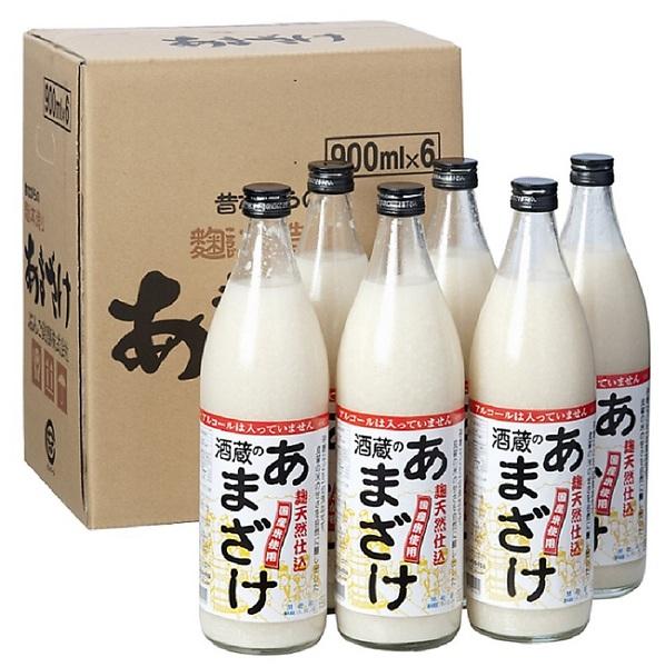 麹天然仕込 酒蔵のあまざけ900ml (6本セット)