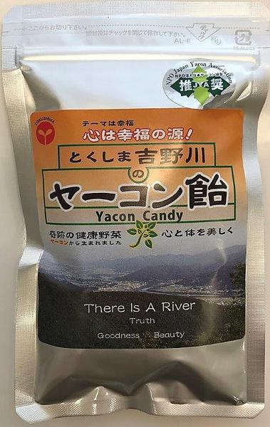 とくしま吉野川のヤーコン飴