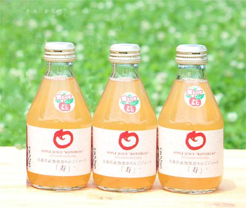 青森県産りんごジュース 180ml ×10本