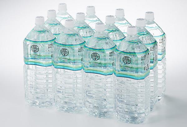 【送料無料】岩深水2Lペットボトル×12本入り(北海道と沖縄へは発送不可)