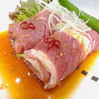 美豚辛口(ピリ辛)200g漬け込みカルビ【国産豚】
